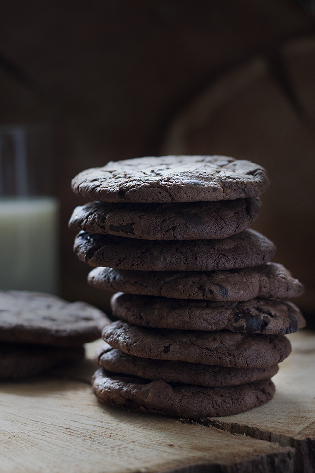 Chewy Triple Chocolate Cookies Recipe 3