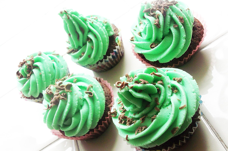 Peppermint Creams Cupcake Recipe 6