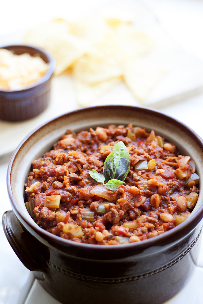 Homemade Vegetarian Chilli Recipe 3