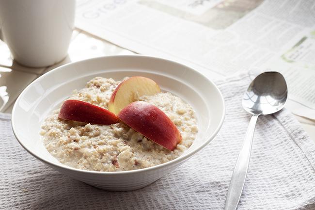 Apple Almond Porridge Recipe 2