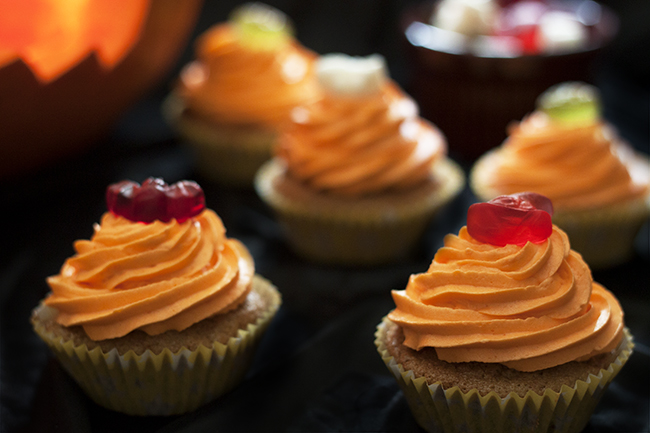 Pumpkin Orange Cupcake Recipe 4