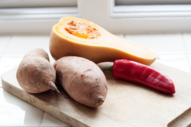 Sweet Butternut Squash & Chilli Soup Recipe 1