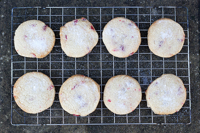 Cherry and Almond Shortbread Recipe 5