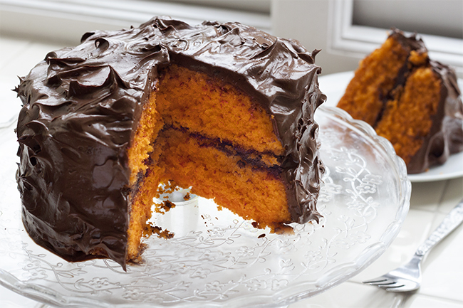 Hidden Dark Chocolate & Orange Cake Recipe 6
