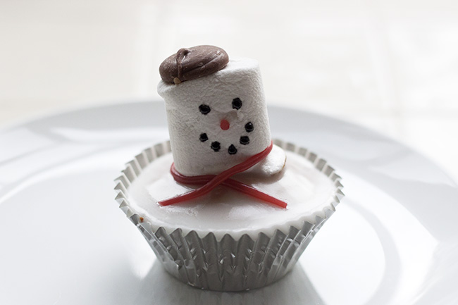 Melted Snowman Cupcake Recipe 10