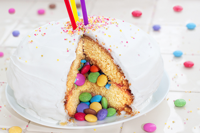 Chicken Birthday Cake Recipe