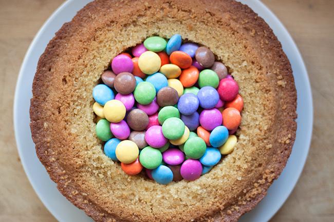 Chocolate Smartie Cake Recipe