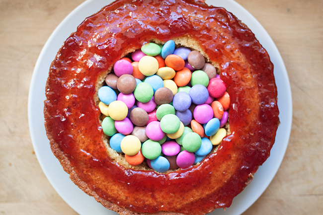 Smartie Pants Pinata Cake Recipe 5