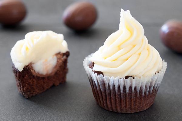 Cadbury Creme Egg Cupcake Recipe 1