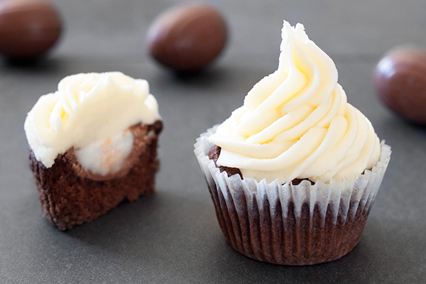 Cadbury Creme Egg Cupcakes Recipe 1
