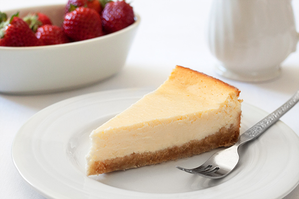Seriously Good Baked Cheesecake Recipe 1