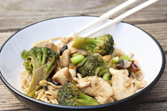 Oriental Chicken and Cashew Nut Stir Fry Reipe 2