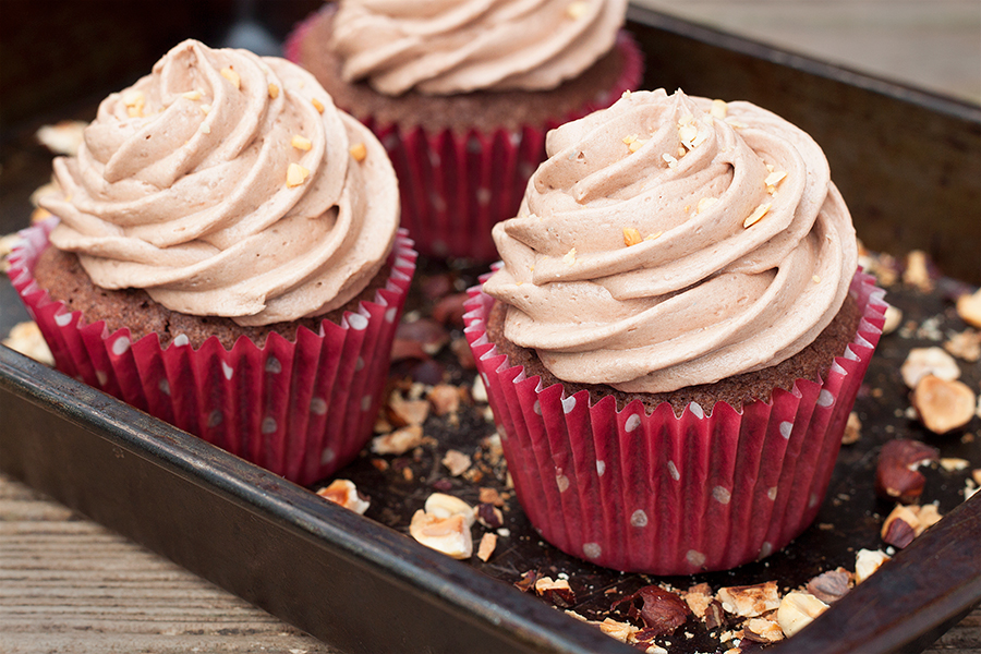Nutella Cupcakes with Nutella Buttercream Recipe 2