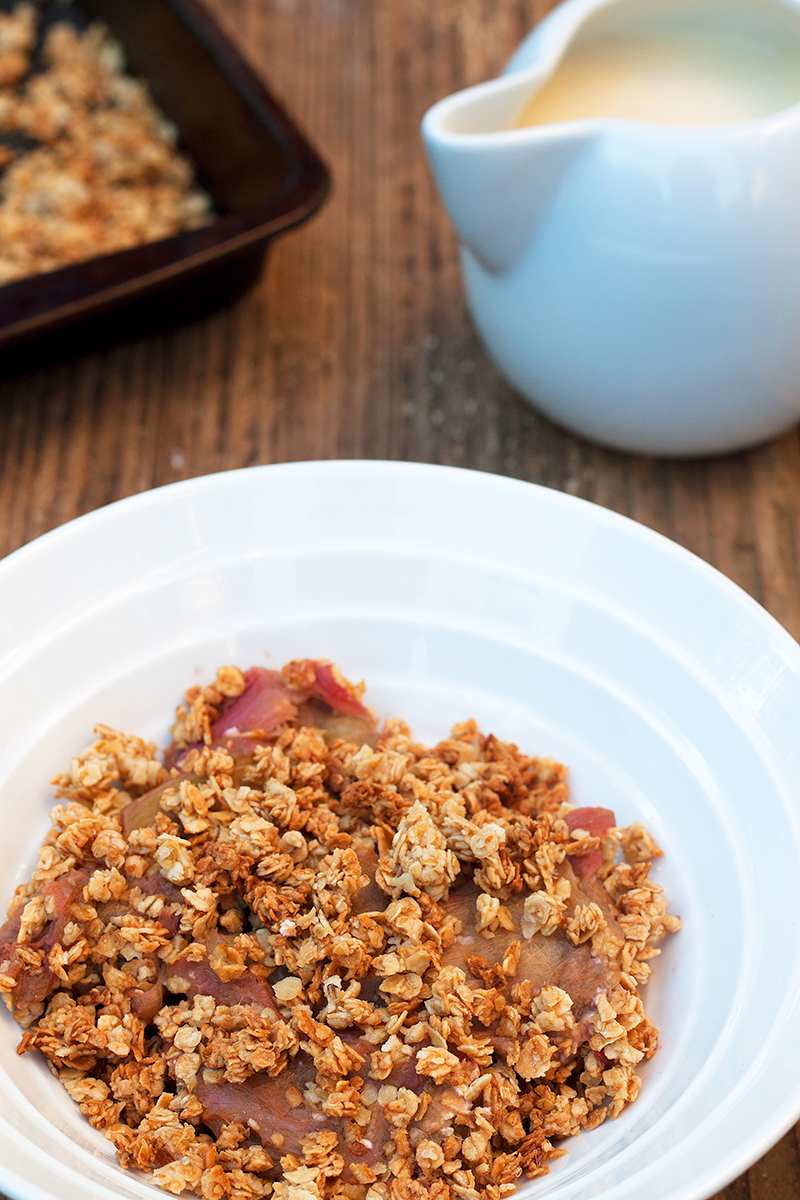 Healthier Rhubarb and Skinny Custard Recipe 1