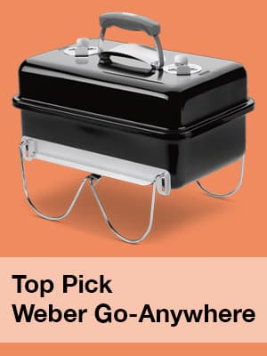 Top Pick Weber Go Anywhere BBQ