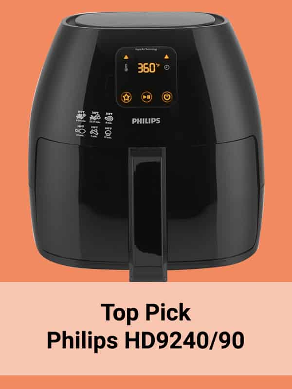 Top pick Philips HD9240/90 Avance Collection air fryer