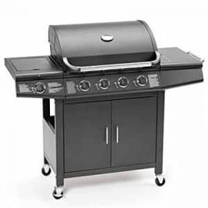 FirePlus 4+1 Gas Burner Grill