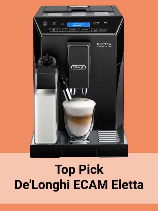 Top pick De'Longhi ECAM44.660B Eletta Coffee Machine