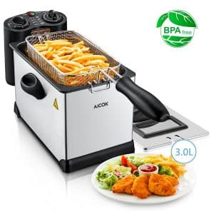 Aicok Deep Fat Fryer
