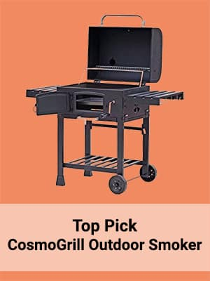 Top pick CosmoGrill Outdoor Smoker