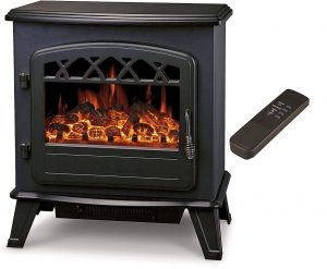 Galleon Fires Castor Electric Fireplace