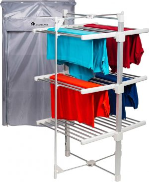 Homefront Deluxe Ecodry Heated Clothes Airer