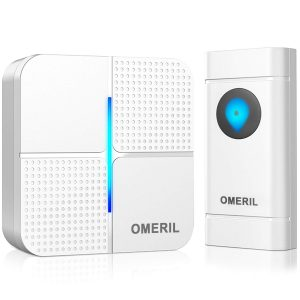 Omeril Ip55 Waterproof Wireless Doorbell