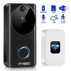 Pybbo Wireless Video Doorbell