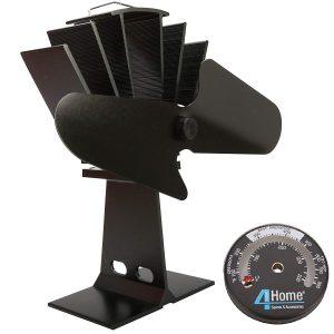 4yourhome Silent Stove Fan