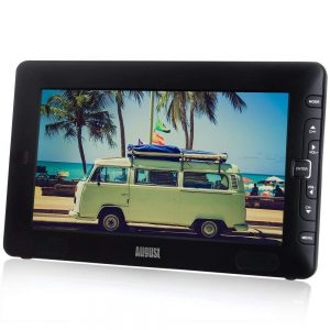 August Dtv905 Portable Freeview Tv