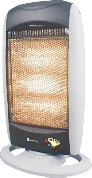 Kingavon Bbhh201 Oscillating Halogen Heater