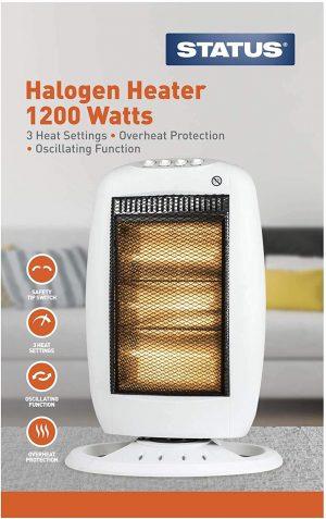 Status Premium Oscillating Halogen Heater