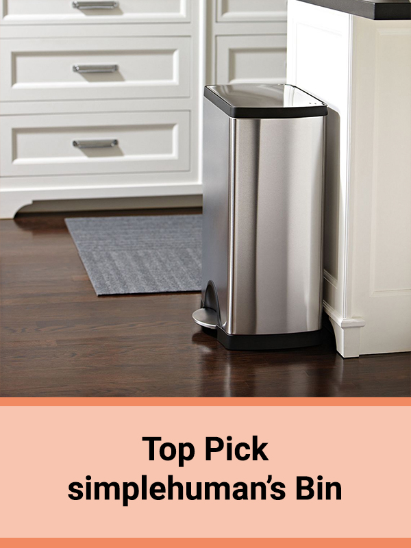 simplehuman Step kitchen bin