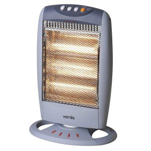 Warmlite Wideangle Oscillating Halogen Heater